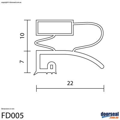 Zanussi: ZF67/51 (Screw In or Moulded Lip) - Freezer