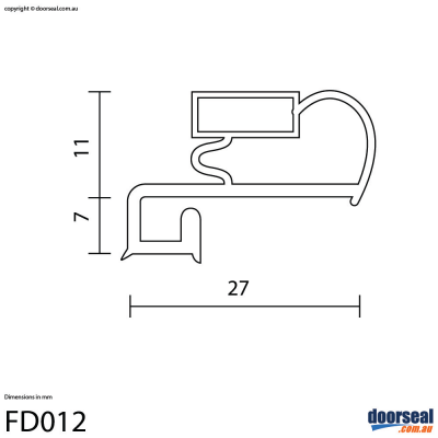"Admiral: ""1U-40CD"" (Screw In or Moulded Lip) - Fridge"